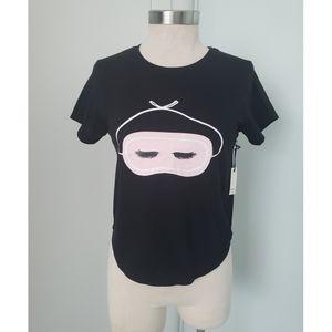5 /$20 Forever 21 Sleep Eye Mask Pajama Tee